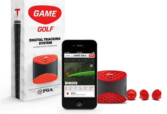 Game Golf Digital Shot Tracking System