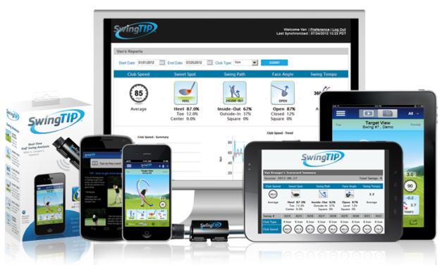 SwingTIP Golf Swing Analysis & Coaching System